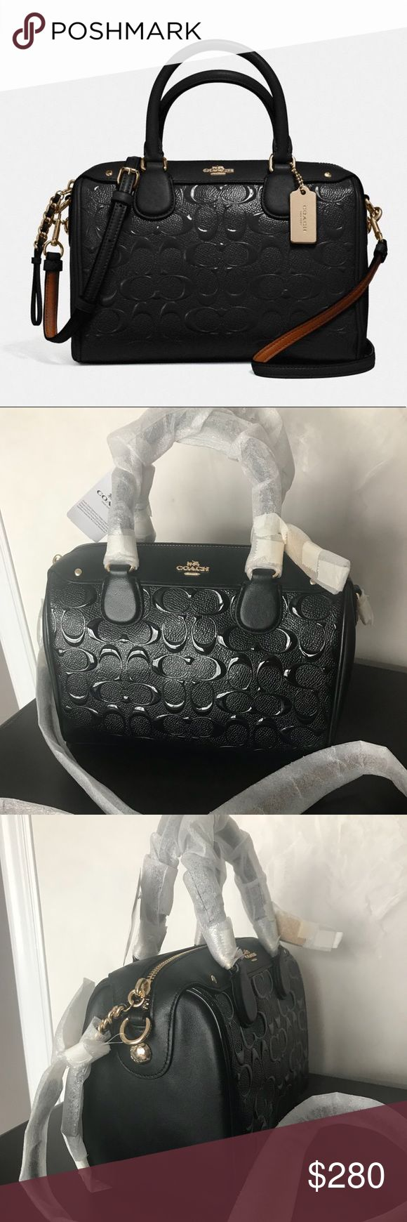 "⚜️ C O A C H  M I N I  S A T C H E L ⚜️ New. Super adorable. I am more than ok if it doesn't sells 😂 patent leather, pockets inside. Handles 4"" drop, strap is 23"".  9""L x 6 1/2""H x 5""W Coach Bags Satchels"
