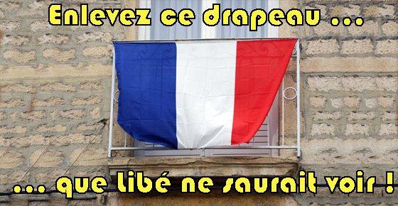 Décidément, Libé est le porte-drapeau de tout ceux qui, à gauche, prônent la détestation de la France et du premier des symboles de la nation : son drapeau français. Pour illustrer cette mission auto-destructrice du quotidien « bobo-gaucho », j'ai relevé...