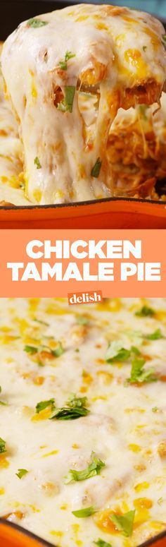 This chicken tamale pie will be gone before the skillet cools off. Get the recipe on Delish.com.