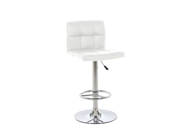 CALUROSO Barstol Vit i gruppen Inomhus / Stolar / Barstolar hos Furniturebox (100-90-104924)