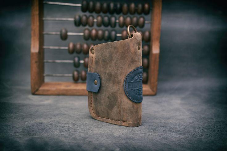 Handtasche - Gelborse Handgemachte Lederportemonnaie Barcelona - ein Designerstück von ladybuqartstudio bei DaWanda