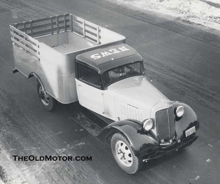 デトロイトニューストラック| 古いモーター