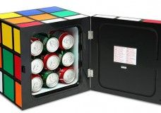 This Rubik's Cube Mini-Fridge Is The Perfect Desktop Companion For You Soda Addiction