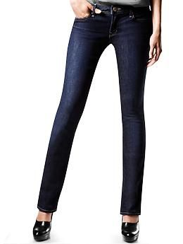 1969 real straight jeans  - Our real straight jeans are cut straight to give the appearance of longer, more slender legs.