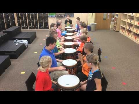 Boom Boom Share a Drum - Measure of improvisation is built in as students solo CLAP - 2x and return to pattern)