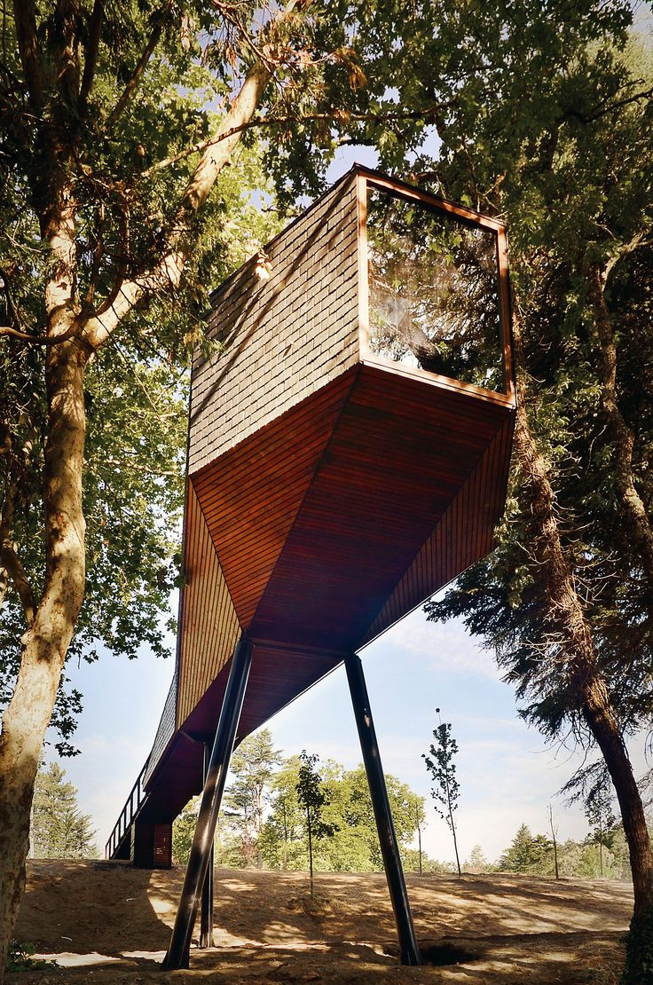 Exotic Tree Houses 98 Best Tree Top Dwellings Images On Pinterest Architecture