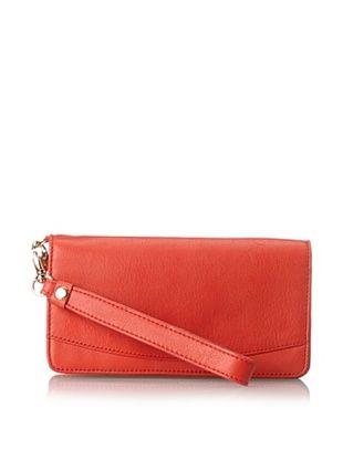50% OFF Tusk Women's Donington Napa Tech Wristlet Wallet, Tangerine