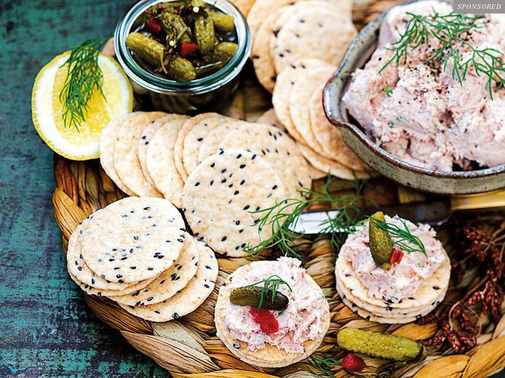 Recipe: Smoked fish pate with gherkins and dill -