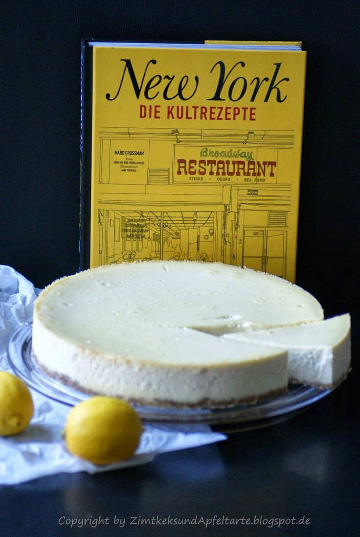 original new york cheesecake nach dem rezept von juniors brooklyn recipes in. Black Bedroom Furniture Sets. Home Design Ideas