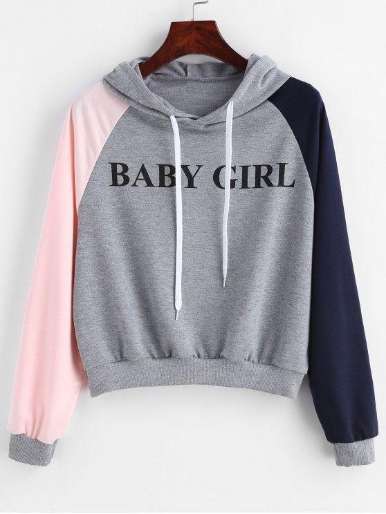 0c2fcc84 Letter Raglan Sleeve Color Block Hoodie zaful #zaful ,champion hoodie,womens  hoodies on sale,womens designer hoodies, #fashion #beautiful #tops #style  ...