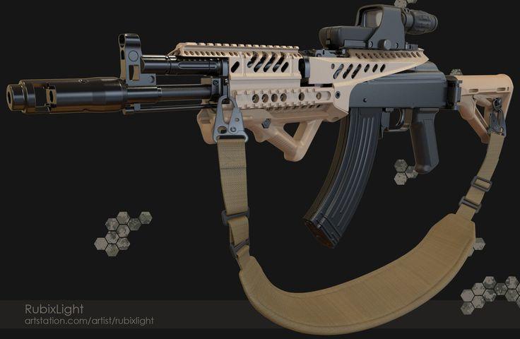 Tactical-AK-2 by RubixLight