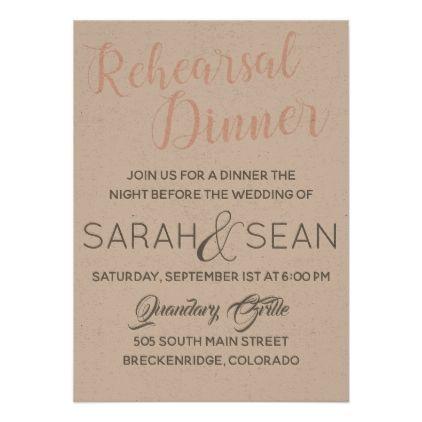 Rehearsal Dinner Invitation - wedding invitations cards custom invitation card design marriage party