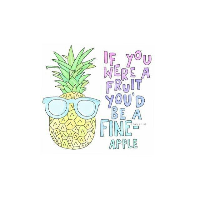 pineapple drawing tumblr. ssoooo cheessyy | tumblr transparents pinterest pineapple illustration, drawings and wallpaper drawing