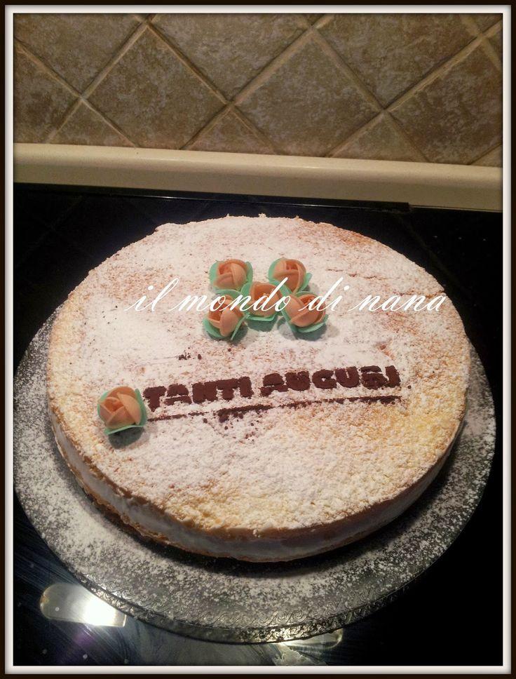 Il mondo di nana: Torta Paradiso con crema al latte bimby
