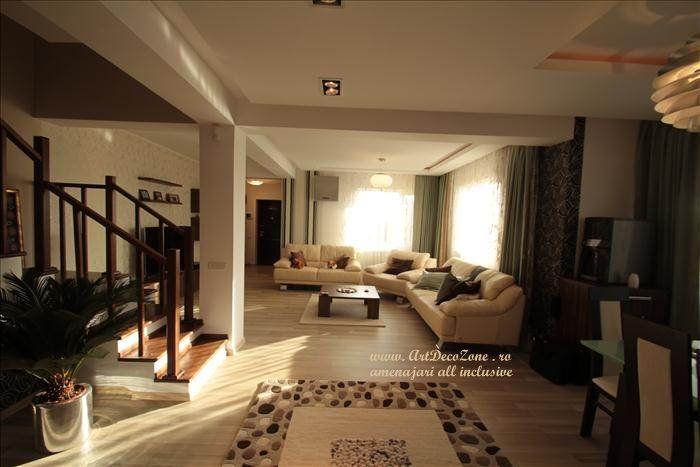 O casa in culori pastelate - Art Deco Zone & Knox Design - Amenajari interioare Bucuresti