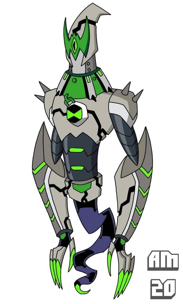 Omni Kix Armor Ghostfreak By Artmachband196 On Deviantart Ben 10 Omniverse Ben 10 Comics Ben 10 Ultimate Alien