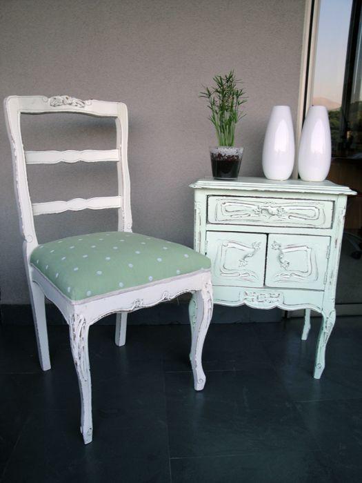 Muebles antiguos restaurados