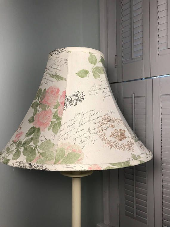 French Lamp Shade Shabby Chic Eiffel Tower Country Paris Lampshadeideasceilingfixtures Rusticinteriorstones