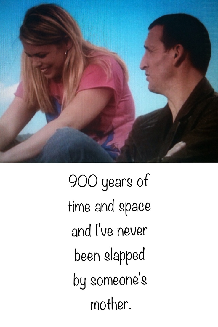 900 years........  9th doctor and Rose Season 1, episode 4