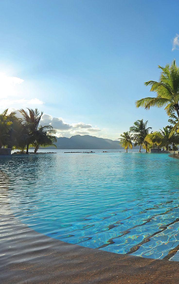 Sainte Anne Resort pool #Seychelles