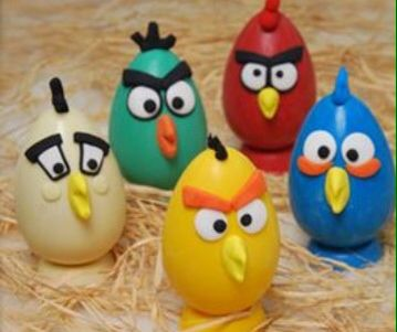 Angry birds eggs 3