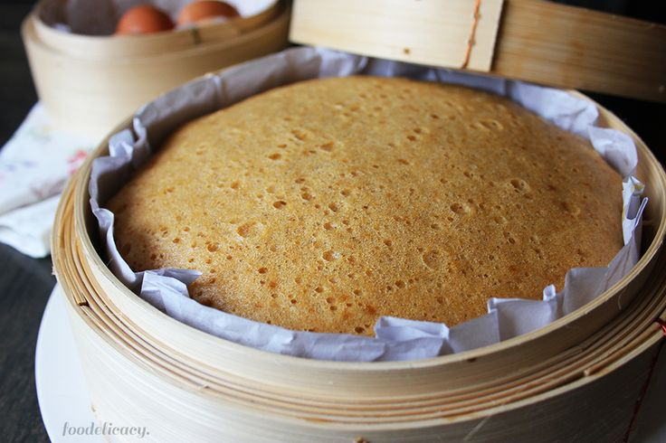 Another Steamed Sponge Cake Recipe
