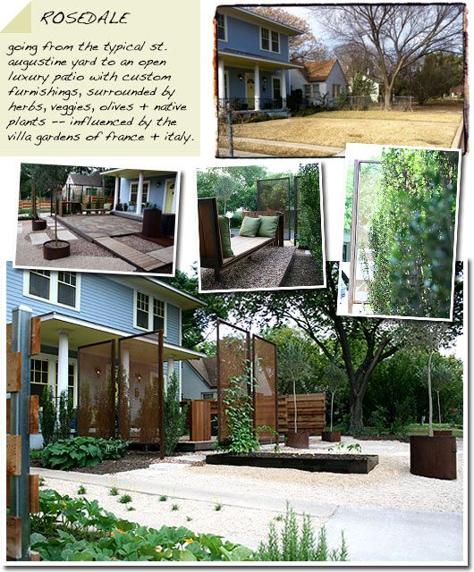 Big Backyard Landscaping Ideas: Ecotopes: Landscape Design Portfolio Modern Garden Steel