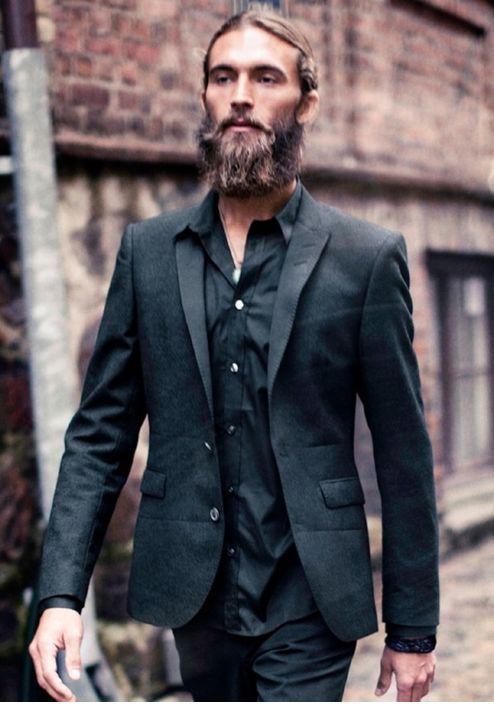 Tux & Beard = winning combo