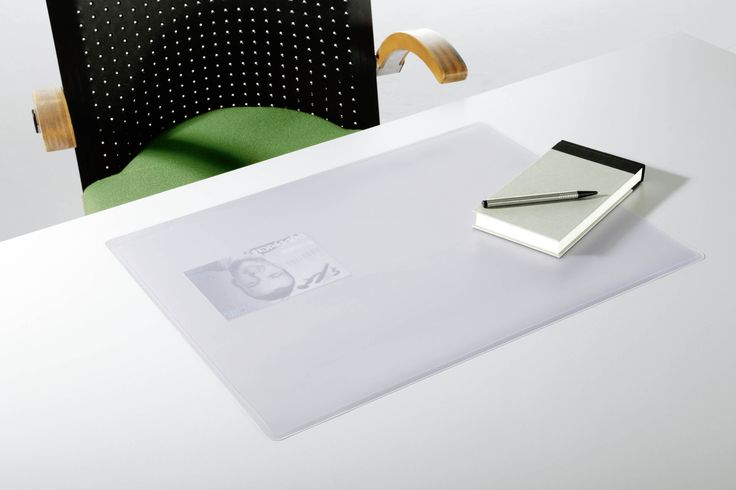 Transparent desk mats can provide full protection to office furniture.