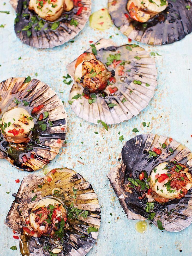 DJ BBQ's scallops | Jamie Oliver