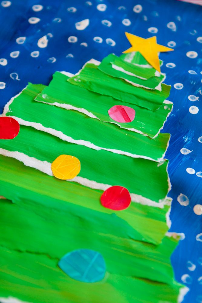 Easy Christmas Tree Crafts!