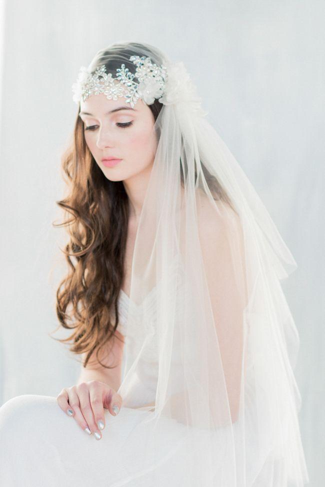 juliet cap #veil from Trendy Bride blog                                                                                                                                                                                 More