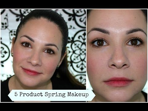 A Tutorial using only 5 products to create this fresh spring look!!