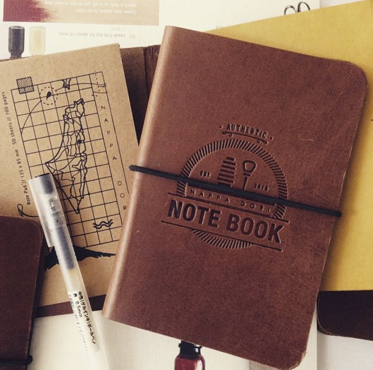 travel notebooks ..