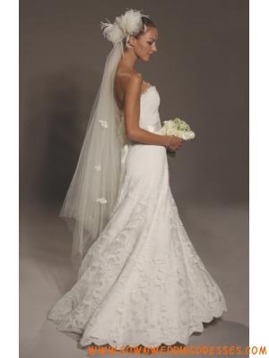 Sweetheart Princess Lace Designer Customized Wedding Dresses Online