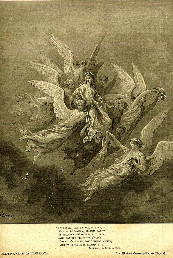 beatrice divine comedy essay In light of these facts, i will argue that dante's treatment or portrayal of beatrice in  the divine comedy is parallel to the sufi's belief that human.