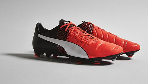Puma evoPOWER 1.3 with Shocking Orange, Black and White