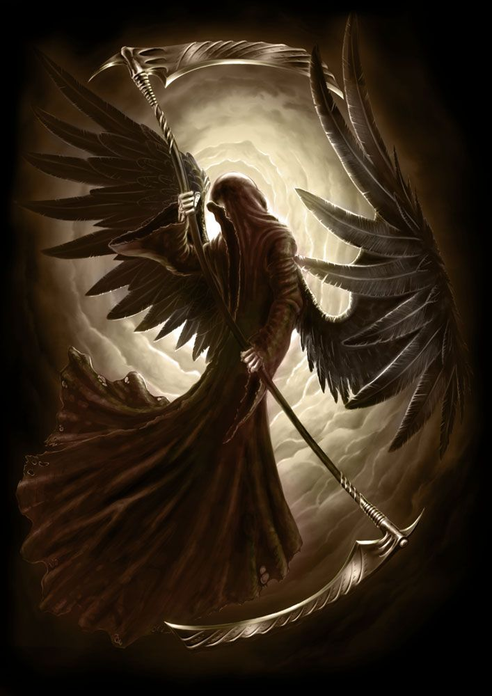 Um dos anjos menos mencionados pela teurgia e mais temido pelos homens, Azrael foi o anjo que participou da criação do homem, sendo assim o único com o direito divino de lhe tirar a vida. As aparições bíblias desse anjo se limitam ao velho testamento e ao apocalipse, e sobre ele é dito que foi quem separou o barro que seria usado para a criação do homem e quem irá fechar o livro da vida. [...]
