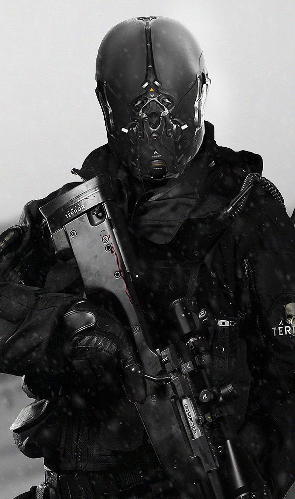 rhubarbes: Anti Terror Squad on Behance by André Luiz de Castro More concept art here.