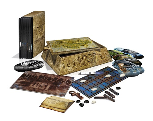 Box completo de Lost em Blu-Ray
