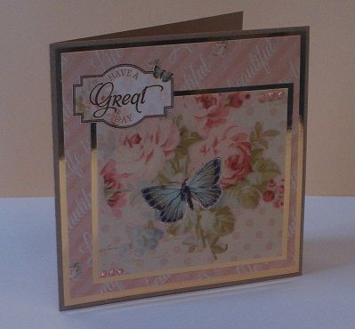 Floral Muse card