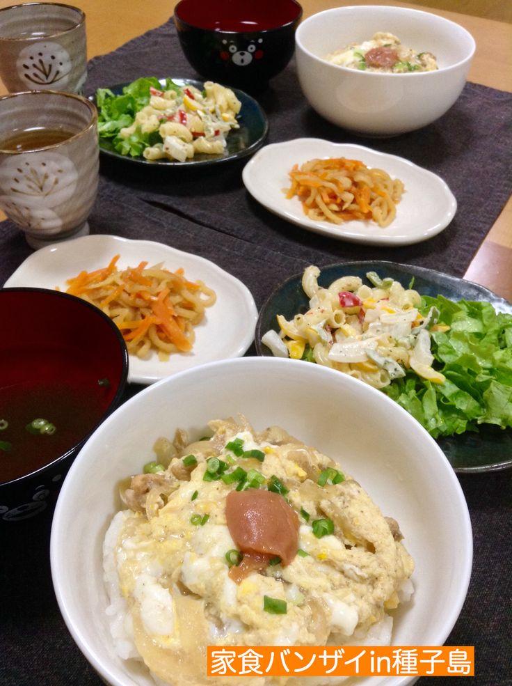 2015/5/31 夕食 親子丼