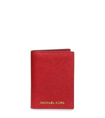 7b64fb934f8e michael kors battery wallet red designer purses - Marwood ...