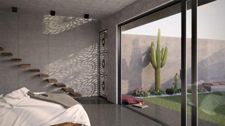 master bedroom renovation - 3d rendering