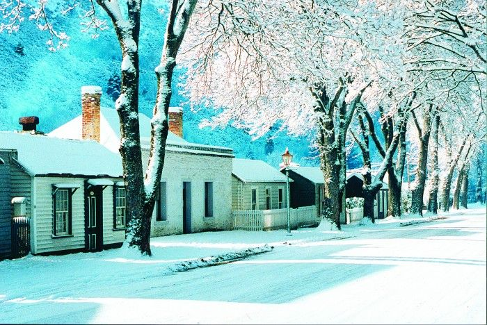 A winter wonderland- Arrowtown, NZ