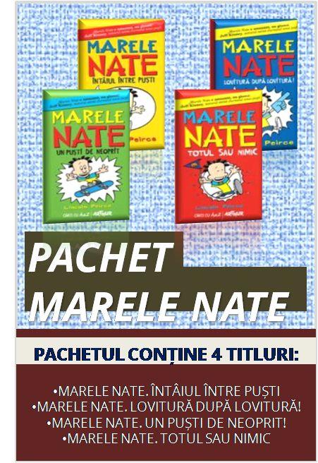 Pachetul Marele Nate conține:  1. Întâiul între puști 2. Lovitură după lovitură 3. Un puști de neoprit 4. Totul sau nimic