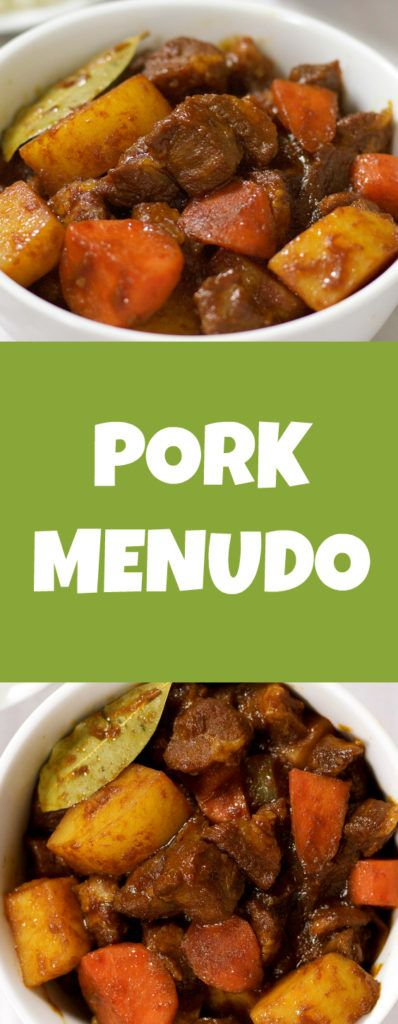 Pork Menudo Recipe In 20 Minutes! - Pinoyway.com