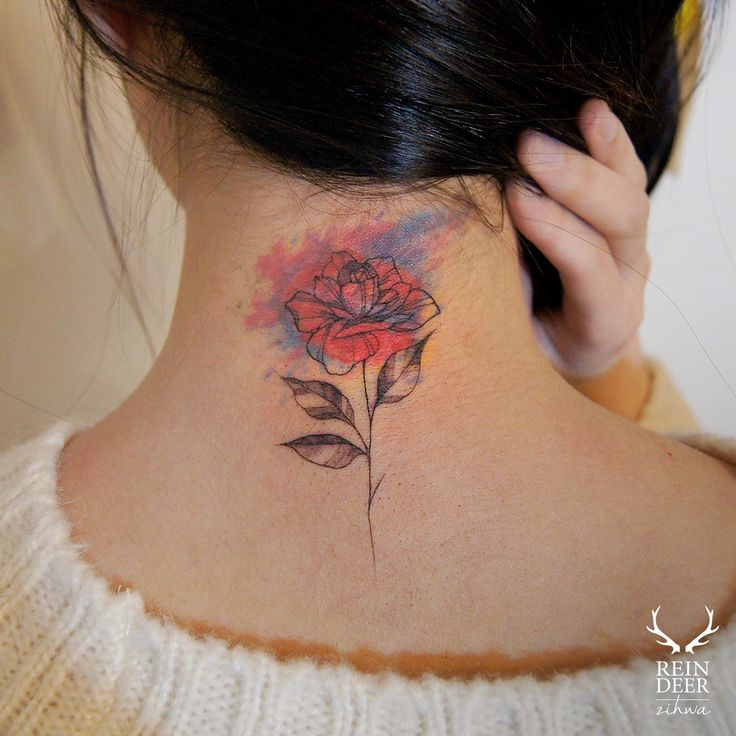 145 Neck Tattoos That Will Make A Statement: Best 25+ Back Neck Tattoos Ideas On Pinterest