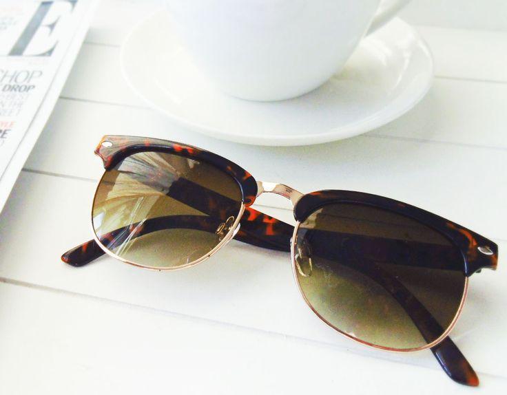 Primark Spring Summer 2015 - Tortoise Shell Half Frame Sunglasses