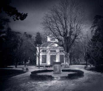 #Haunted house concept in #stormy weather #creepy #dark #night #ghosts #hauntedhouse #halloween #ghoststories #creative #horror #horrormovie